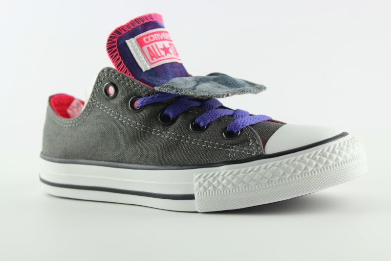 e124 converse chucks double tongue ox shoes kids. Black Bedroom Furniture Sets. Home Design Ideas