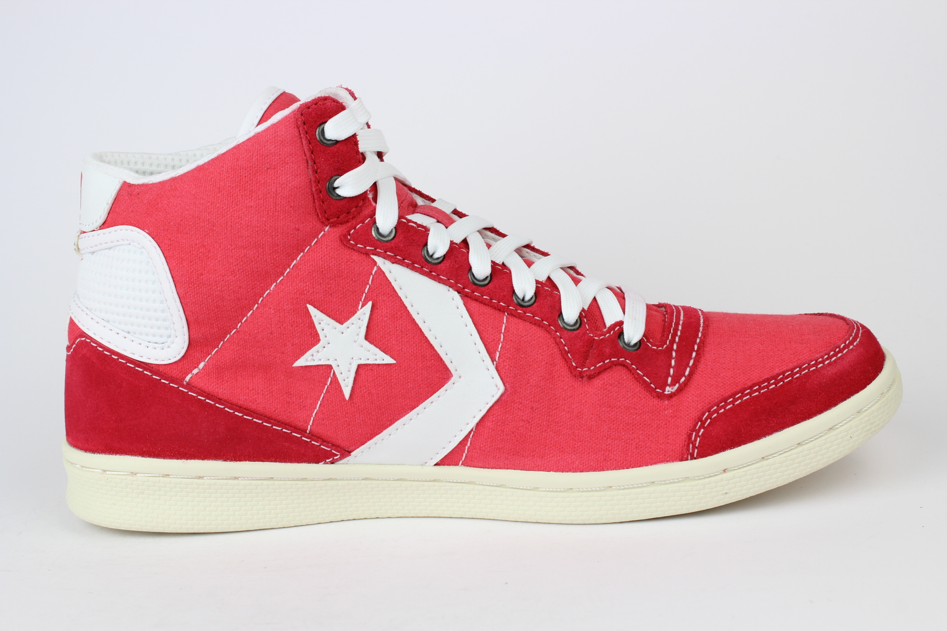 converse fast break mid all star shoe red rot size 42 5 us 9 136953c ebay. Black Bedroom Furniture Sets. Home Design Ideas